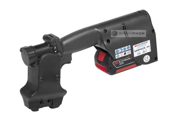 Akumulátorový stroj na prostřižení pásky GripPack-114